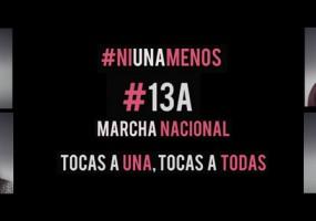Ni Una Menos marcha en Lima