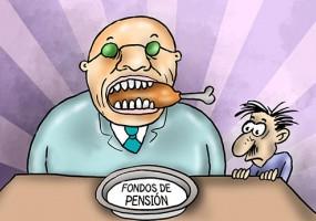 Vaciando fondos de pensión