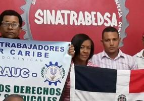 Sindicatos dominicanos se solidarizan con STECSA