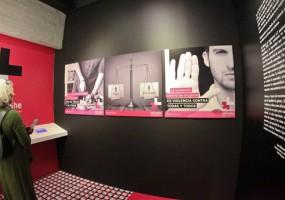 Exposición muestra realidad del feminicidio en México