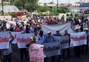 Pueblo Xinka exige cese  de actividad minera