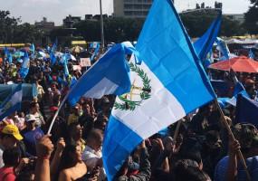 Guatemala al borde de una nueva crisis político-institucional