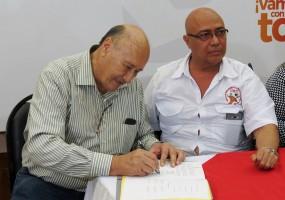 STIBYS firma nuevo convenio colectivo con Cervecería Hondureña (AB InBev)
